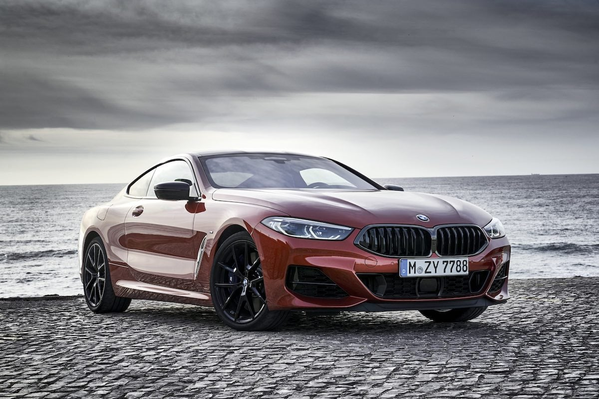2019 BMW 8 Series review - front