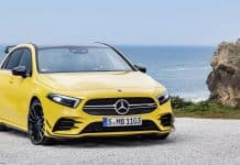 Mercedes-AMG A 35 front