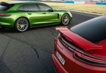Porsche Panamera GTS saloon and Sport Turismo wallpaper