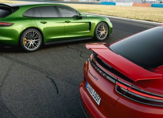 Porsche Panamera GTS saloon and Sport Turismo wallpaper