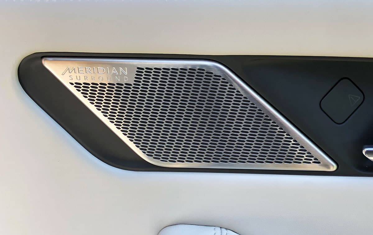 Jaguar I-Pace interior   door speaker   The Car Expert