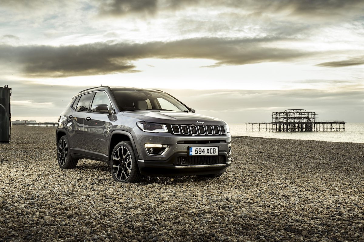 2019 Jeep Compass - front