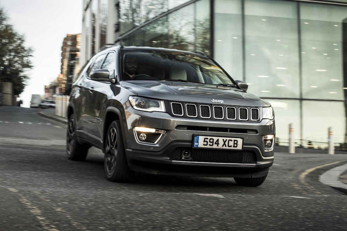 2019 Jeep Compass road test - front