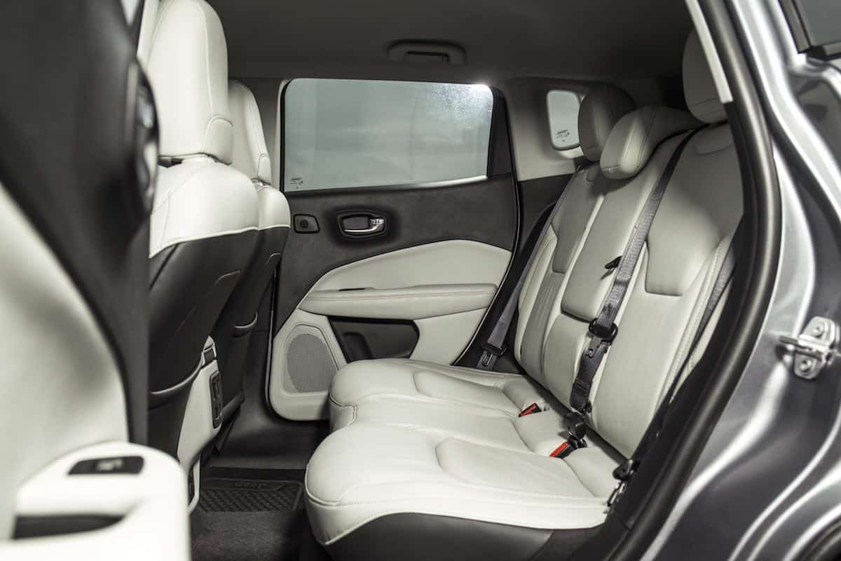 2019 Jeep Compass rear seats