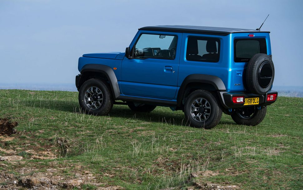 Suzuki Jimny (2018) rear side view | The Car Expert
