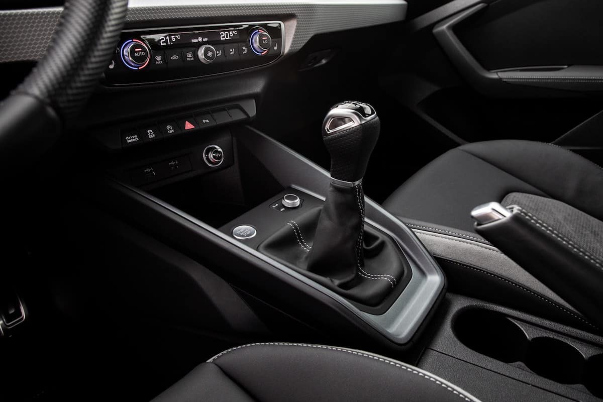 2019 Audi A1 Sportback gear lever