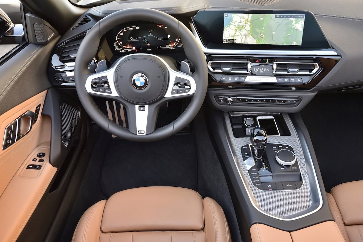 2019 BMW Z4 road test - interior | The Car Expert