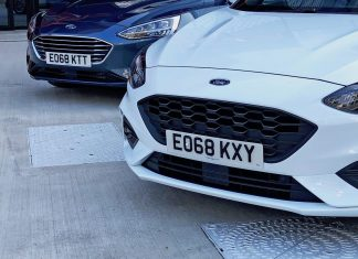 68-plate Ford Focus cars