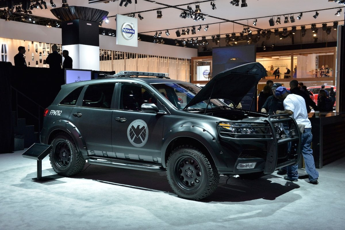 Acura MDX from Agents of SHIELD