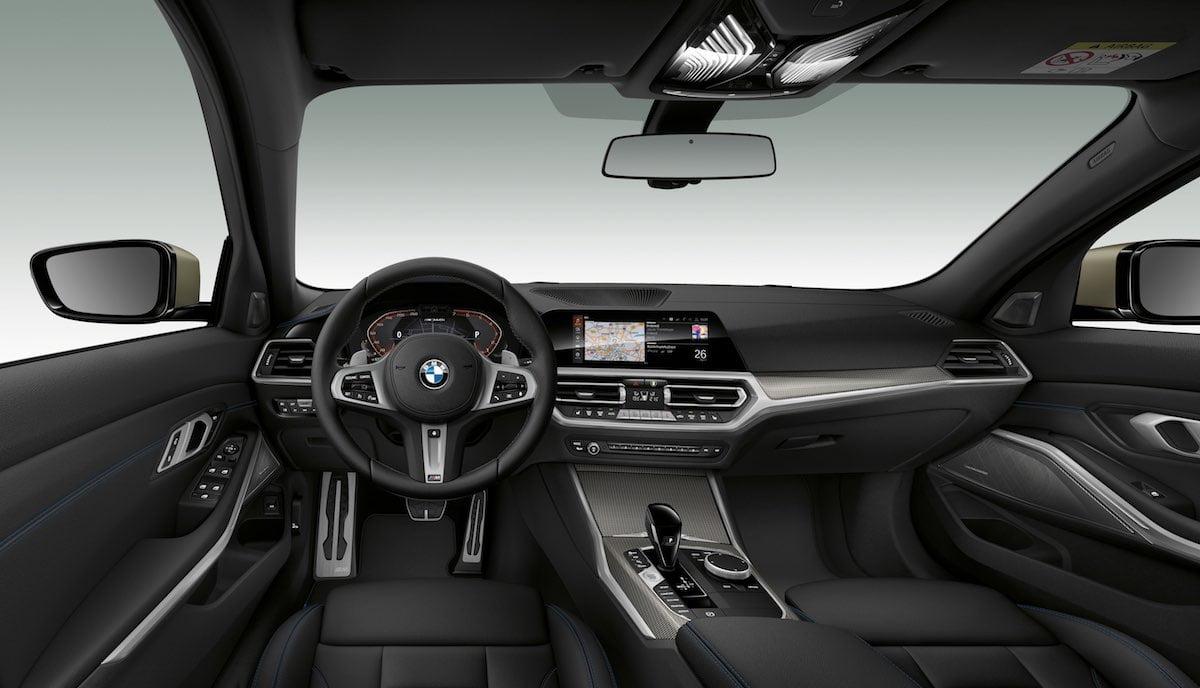 BMW M340i interior
