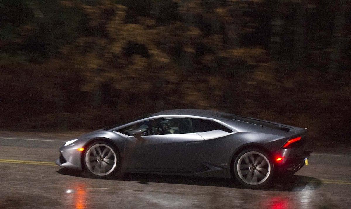 The Lamborghini Huracan in Doctor Strange