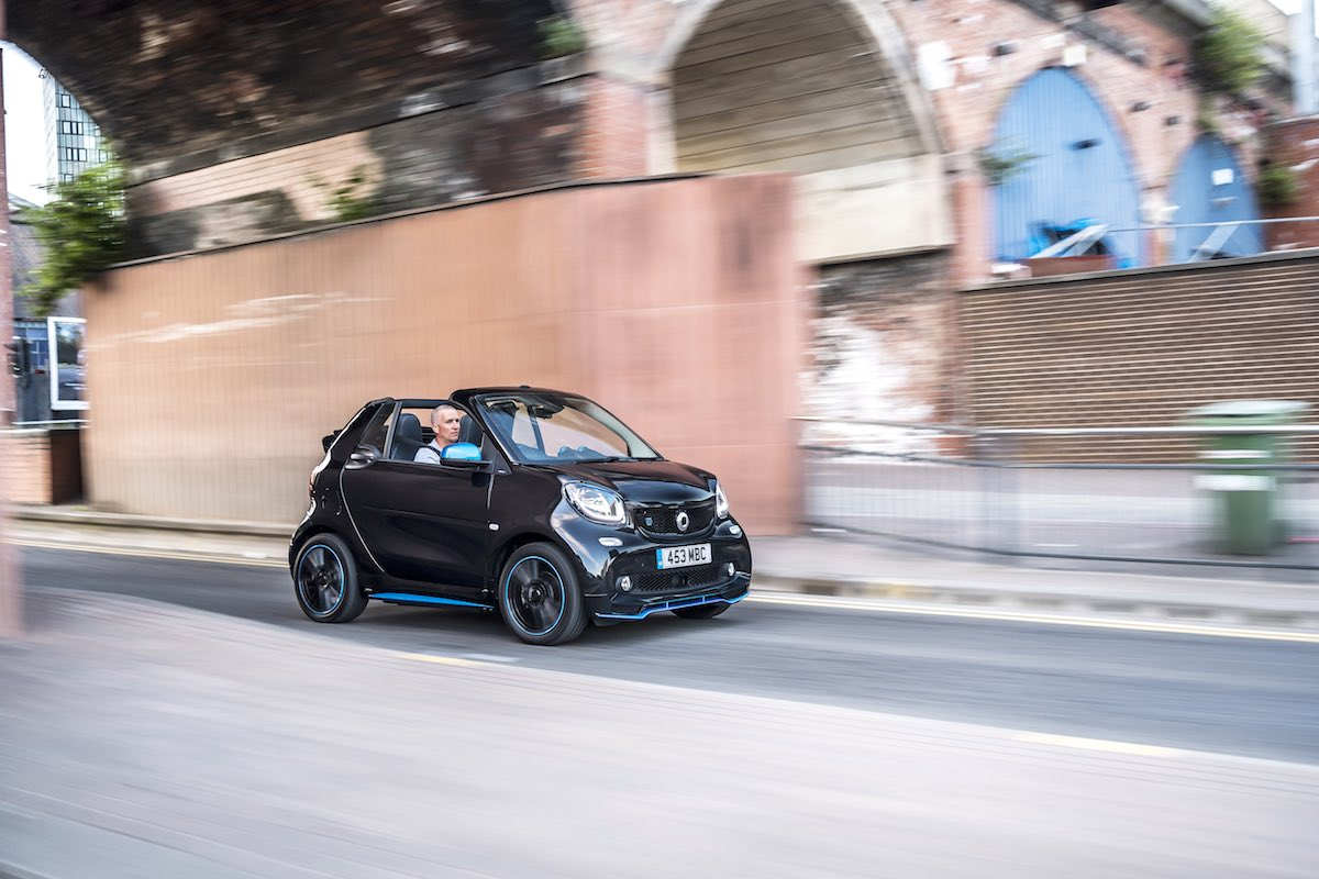 2019 Smart EQ ForTwo cabriolet - on-road front