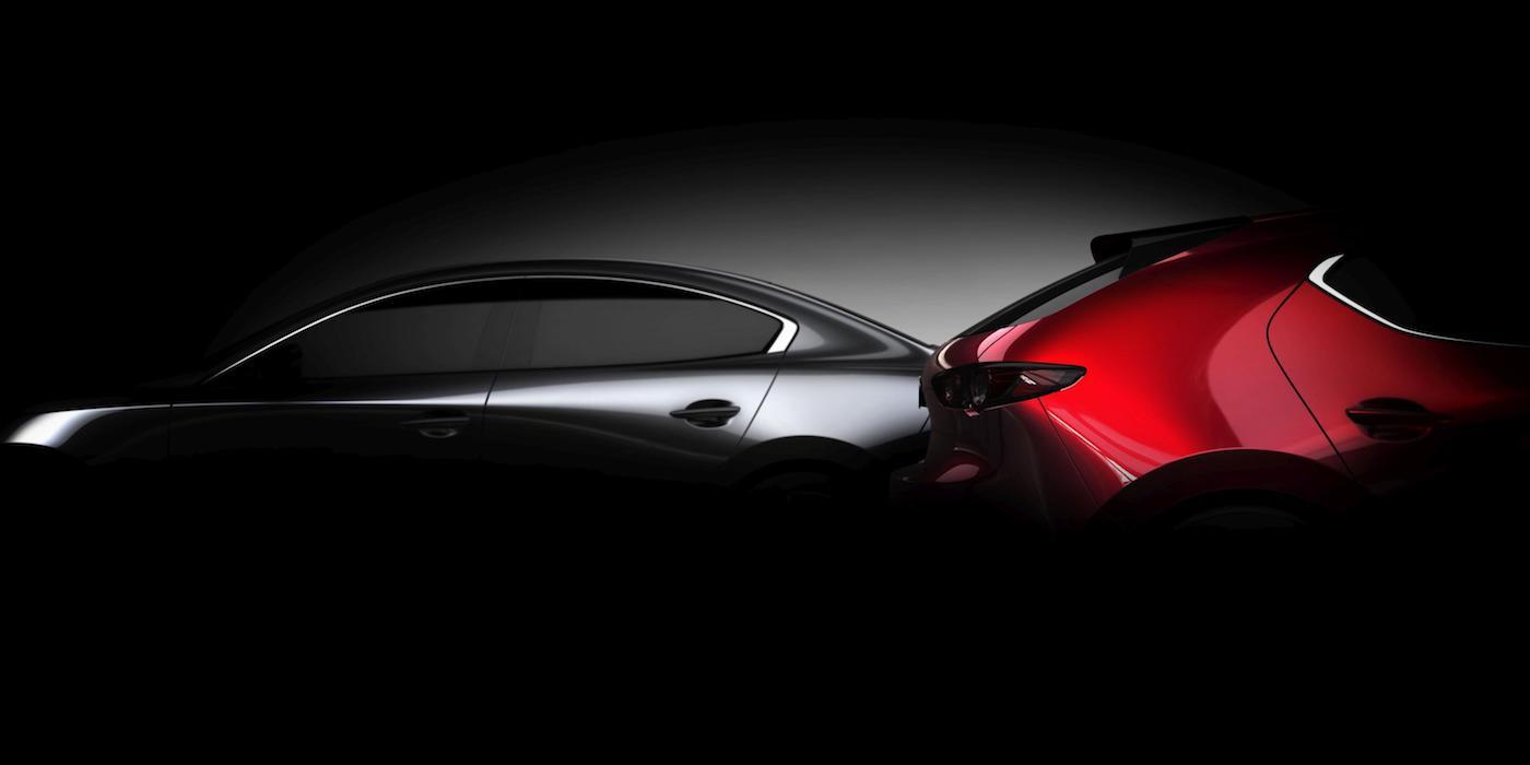 Mazda 3 teaser image