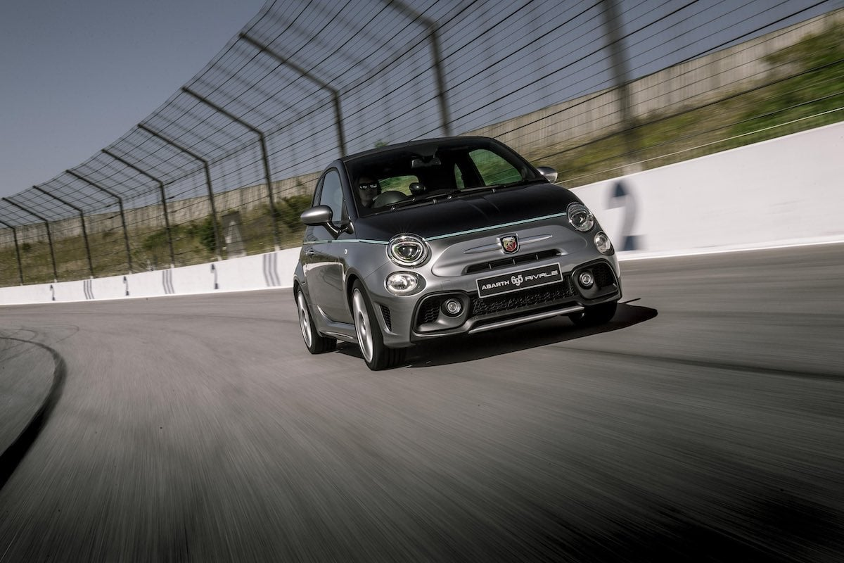 Abarth 695C Rivale on track | The Car Expert