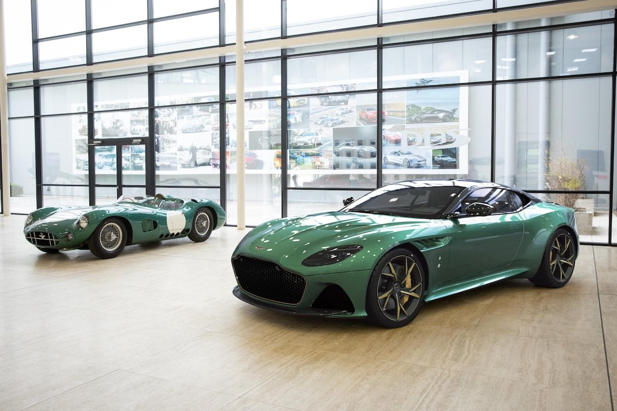 Aston Martin DBS 59 and DBR1