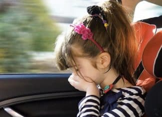Child car sickness | The Car Expert