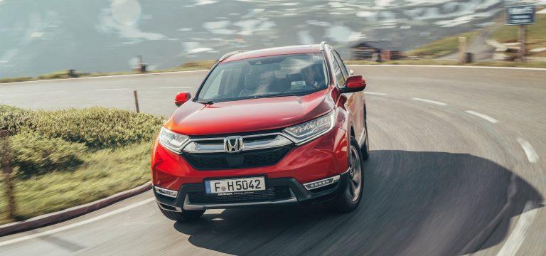 Honda CR-V test drive