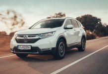 2019 Honda CR-V Hybrid test drive wallpaper