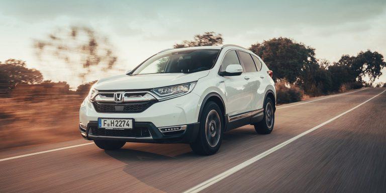 Honda CR-V Hybrid test drive