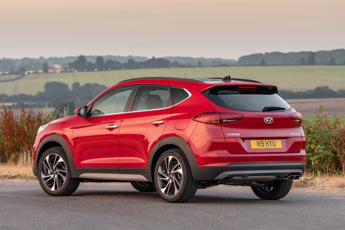 2019 Hyundai Tucson rear | The Car Expert