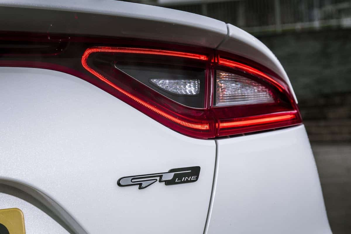 Kia Stinger GT-Line badge