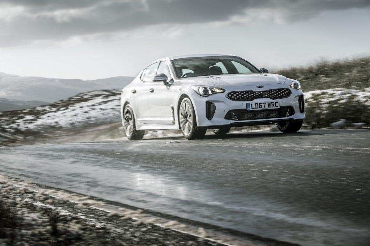 Kia Stinger GT-Line road test - front