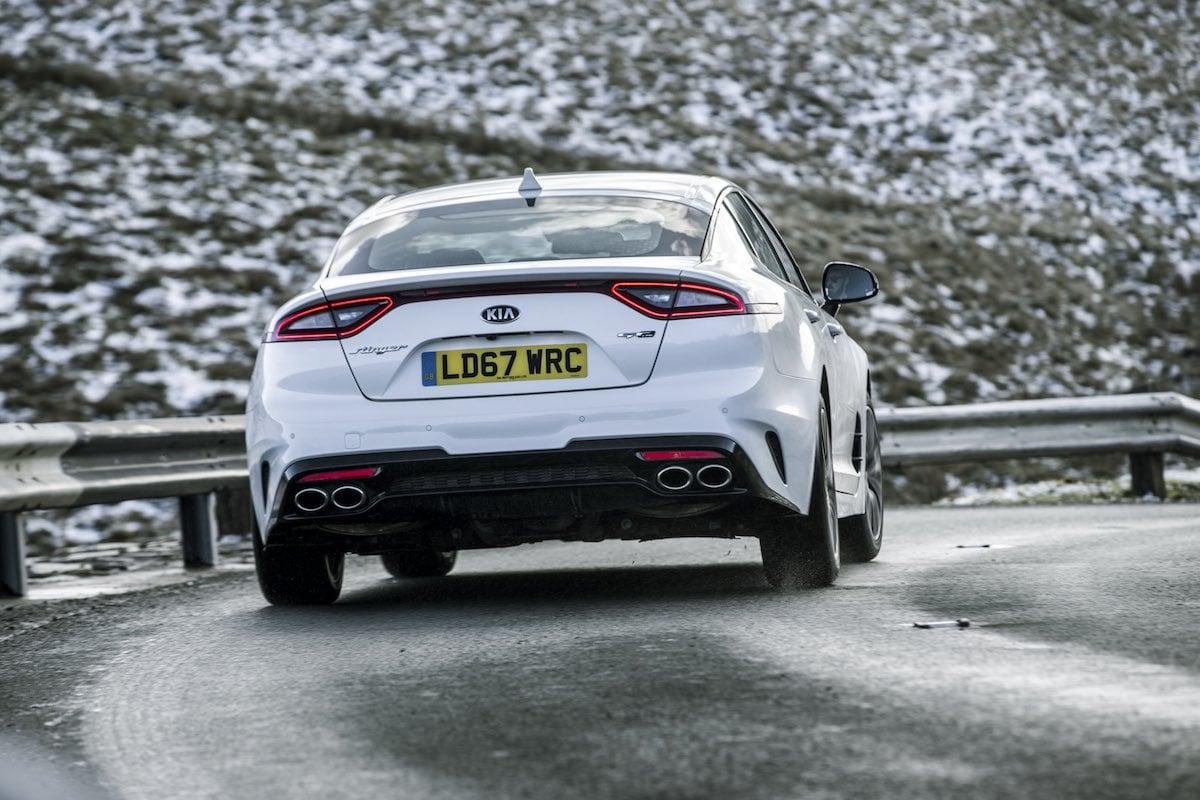 Kia Stinger GT-Line road test - rear