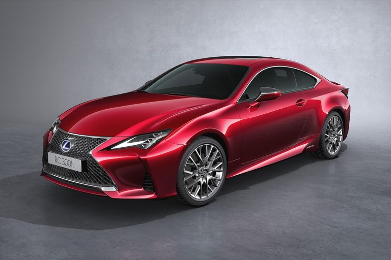 Lexus announces prices and specifications for the new RC coupe