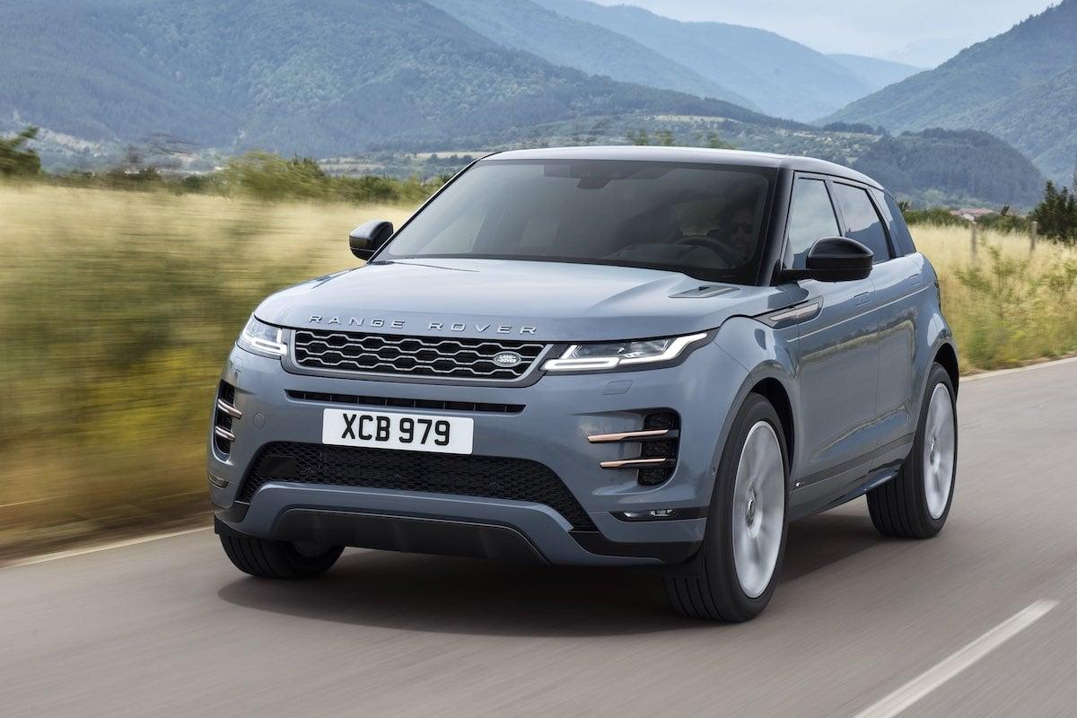 2019 Range Rover Evoque on-road