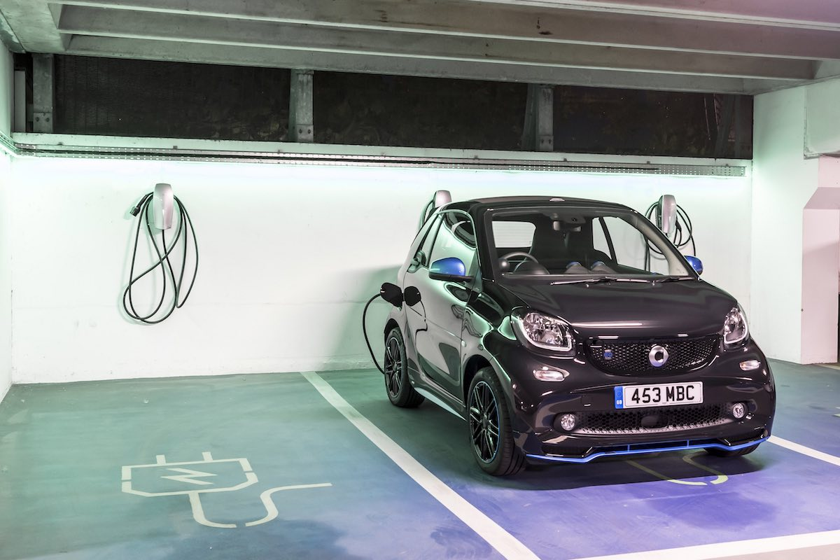 2019 Smart EQ ForTwo cabriolet - charging