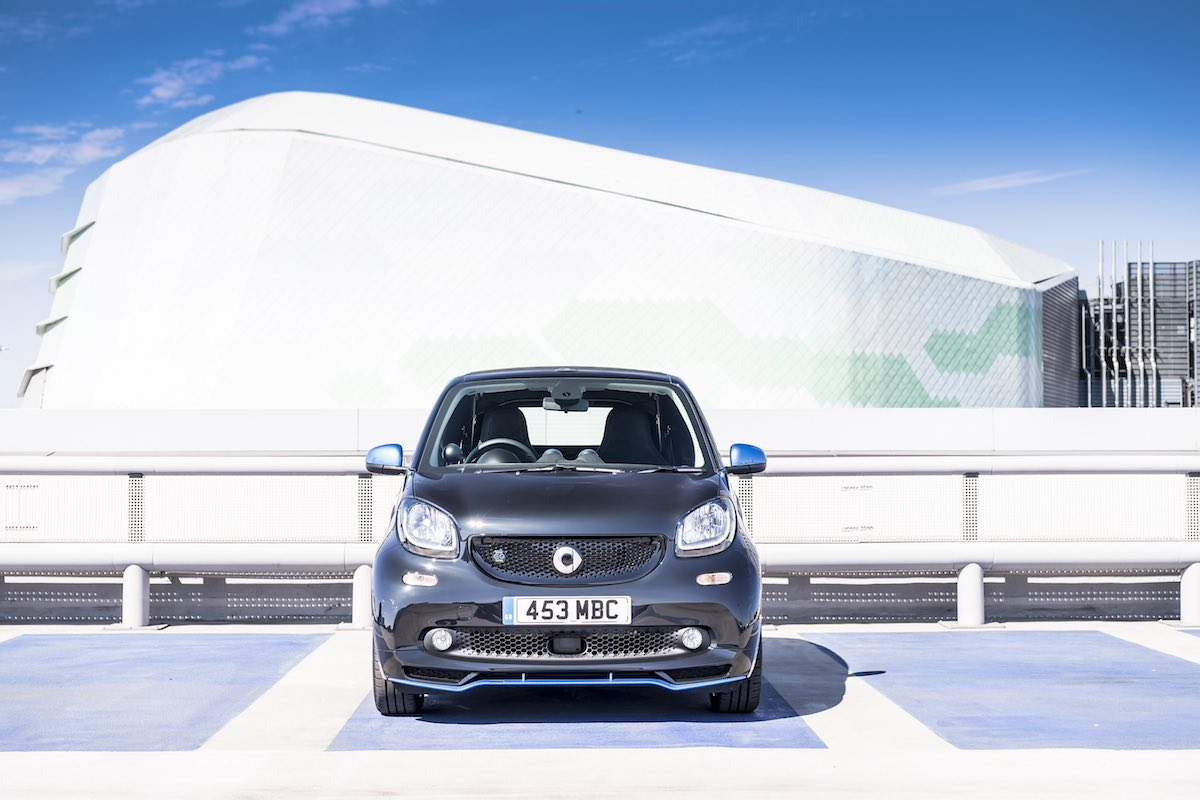 2019 Smart EQ ForTwo cabriolet - front