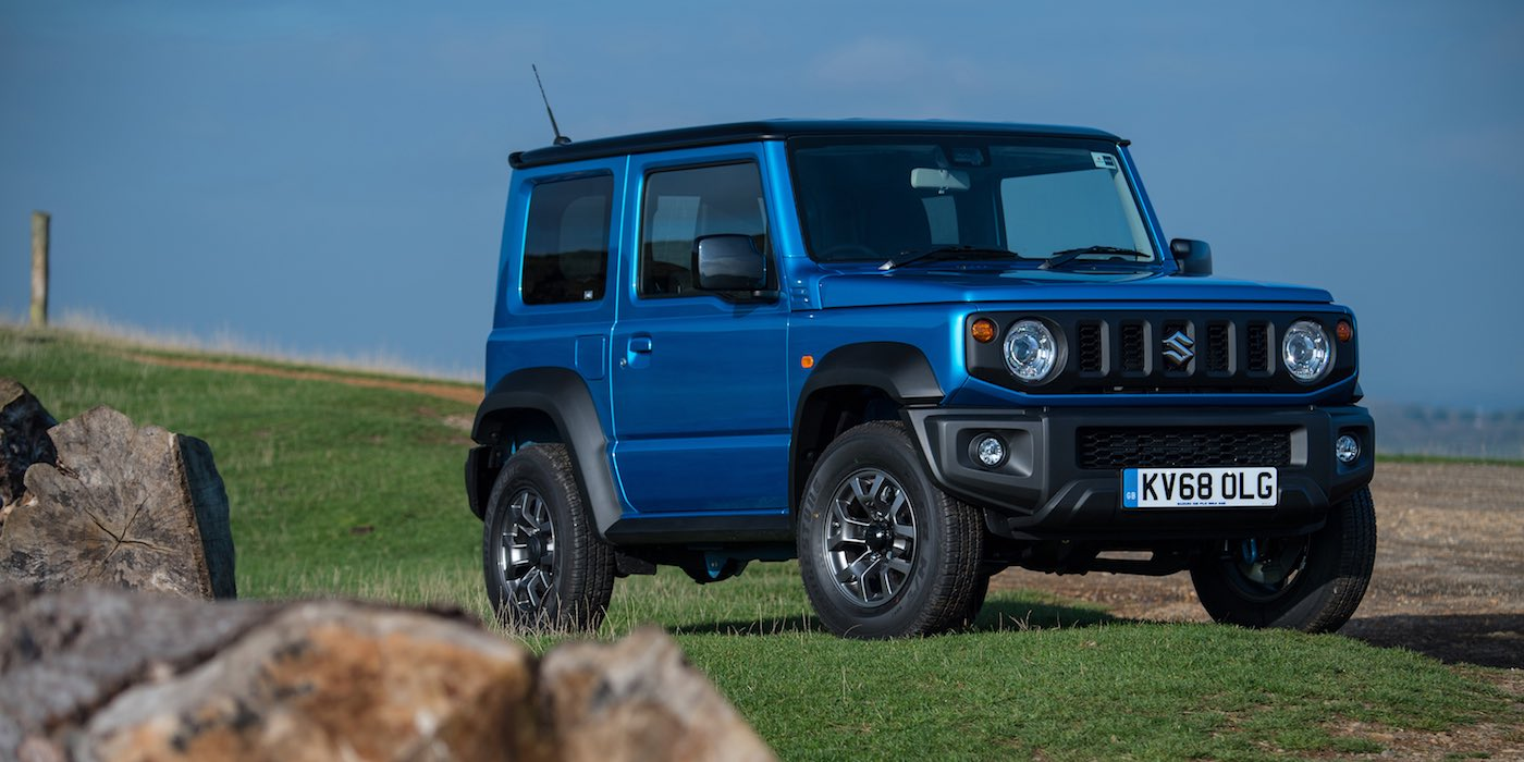 Suzuki Jimny UK pricing and specification - front