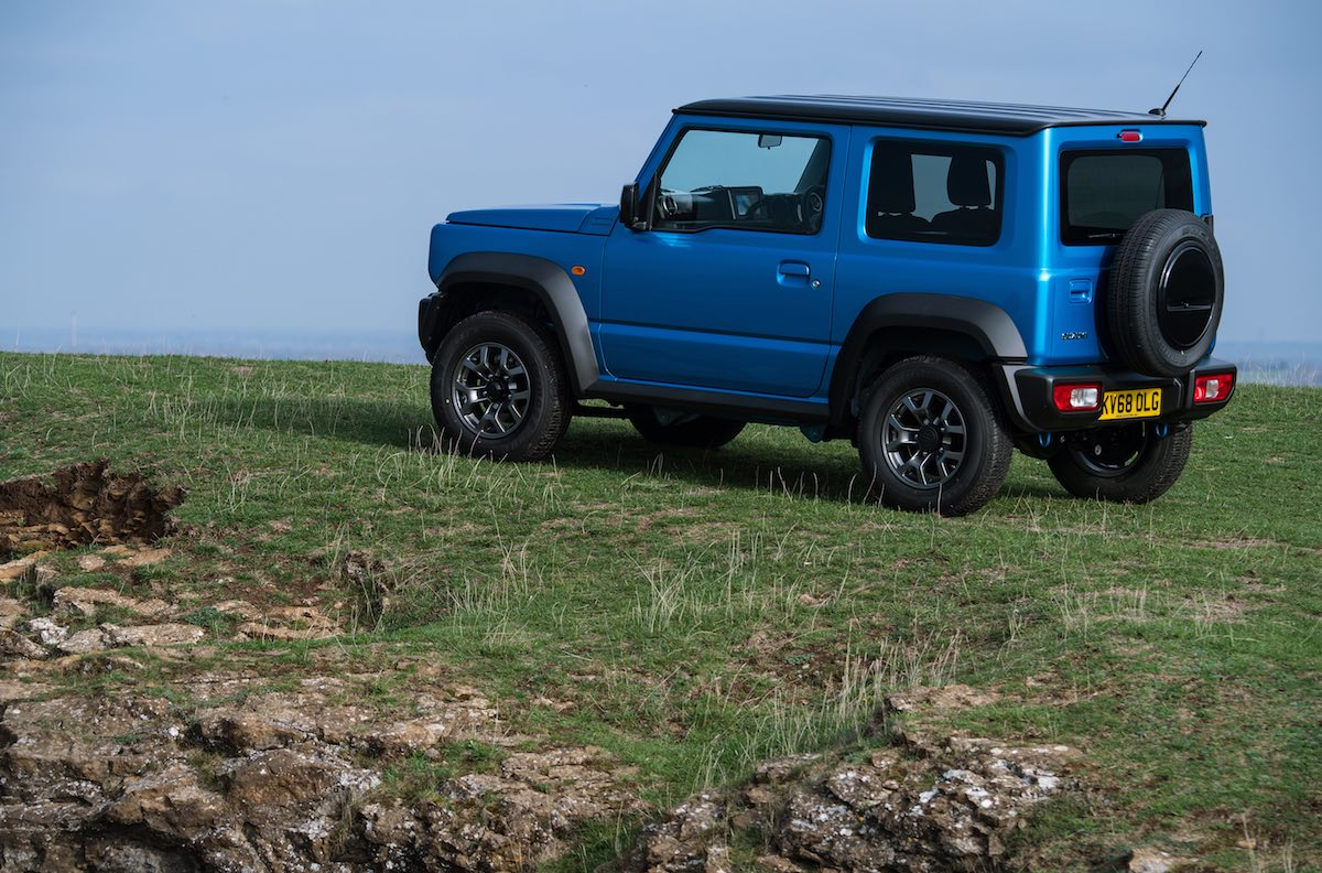 Suzuki Jimny UK pricing and specification - rear