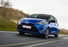 2018 Toyota Yaris Hybrid review wallpaper