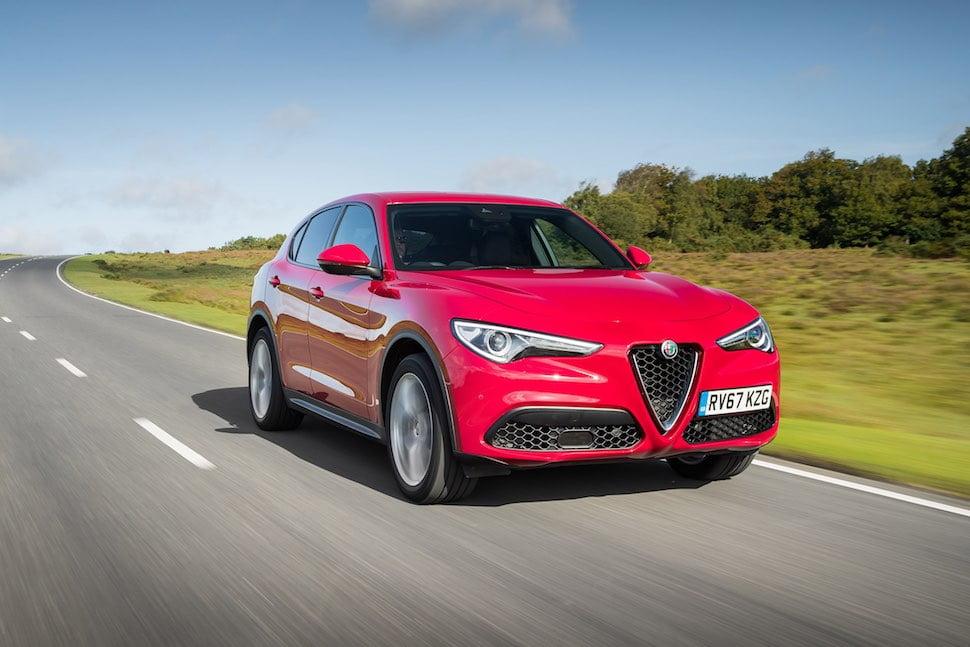 2019 Alfa Romeo Stelvio review - front