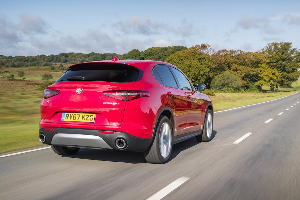 2019 Alfa Romeo Stelvio review - rear