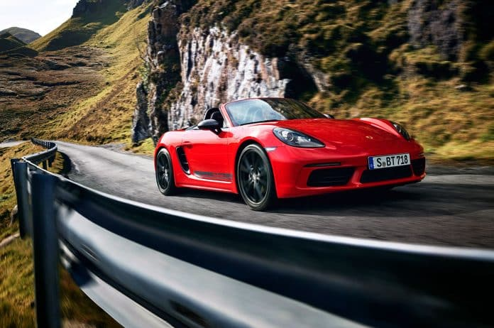 Porsche Cayman T & Boxster T launch with handling upgrades