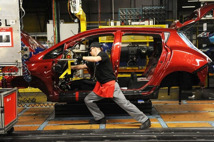 British car manufacturing down by a fifth in November