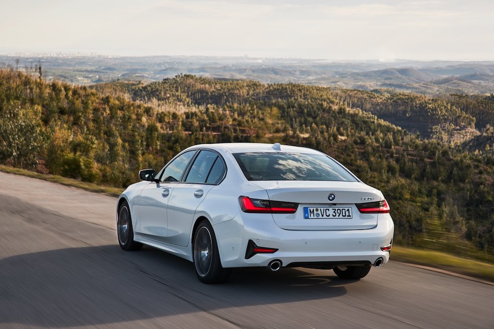 2019 BMW 3 Series on-road rear | The Car Expert