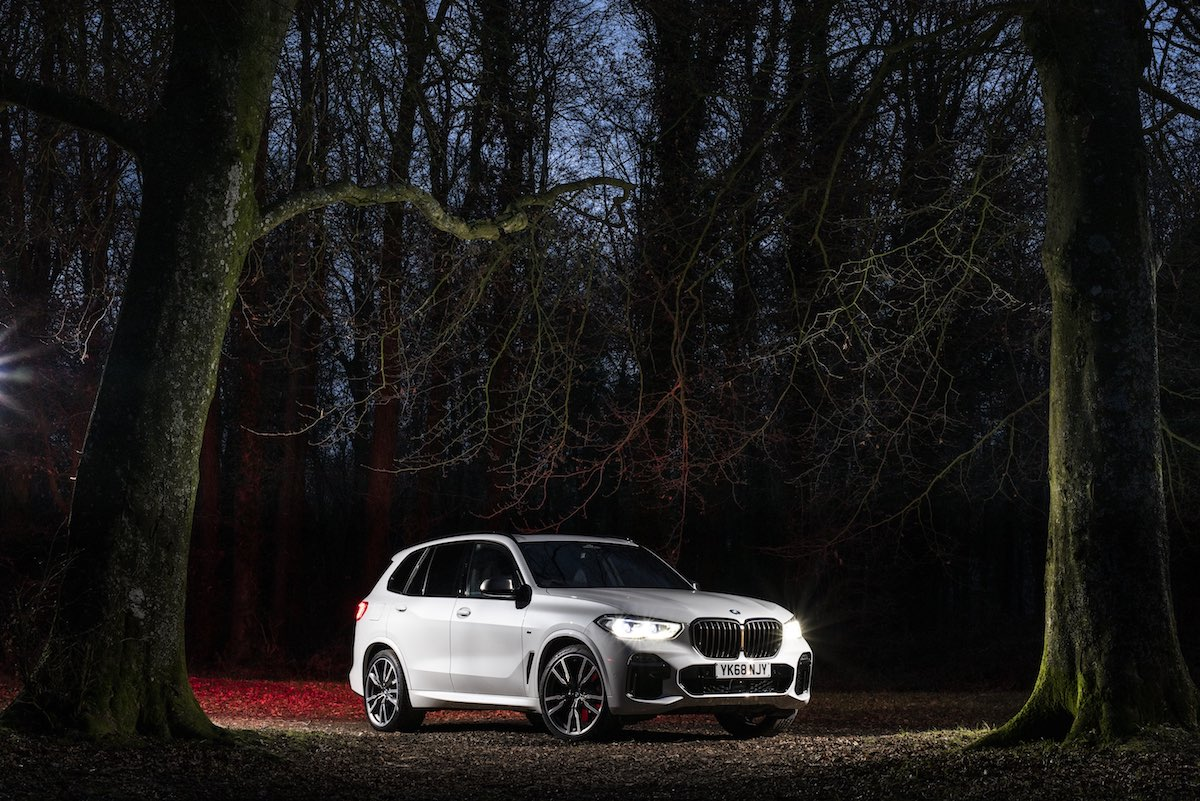 2019 BMW X5 at night | The Car Expert