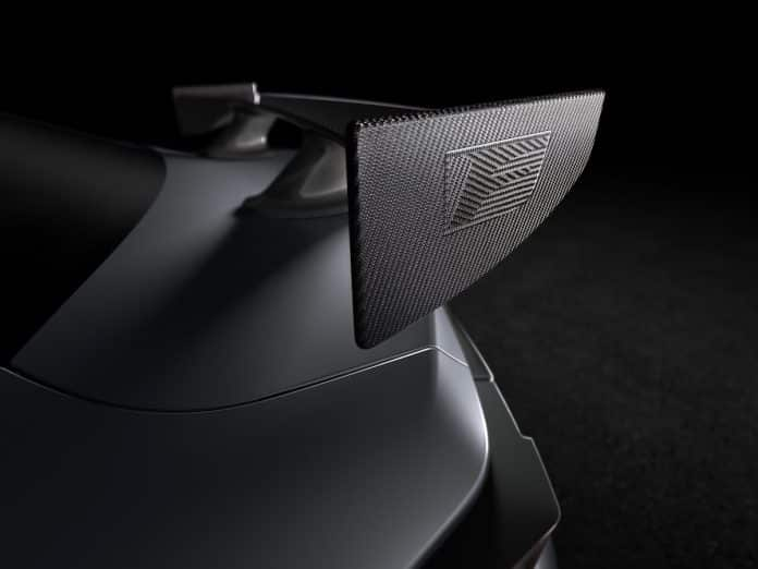Lexus RC F Track Edition teaser image