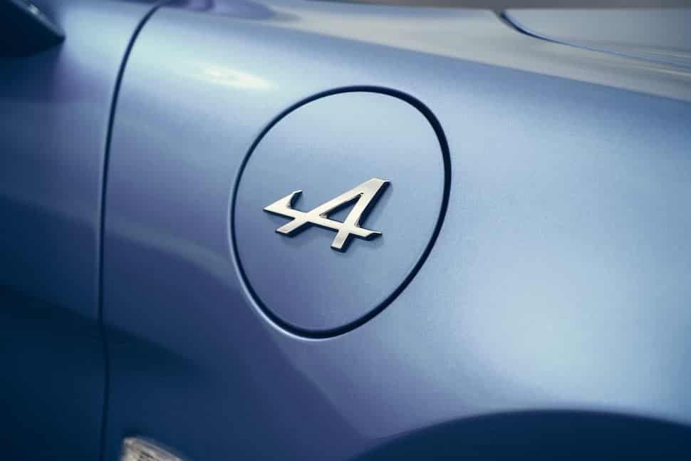 Alpine A110 fuel filler cap   The Car Expert