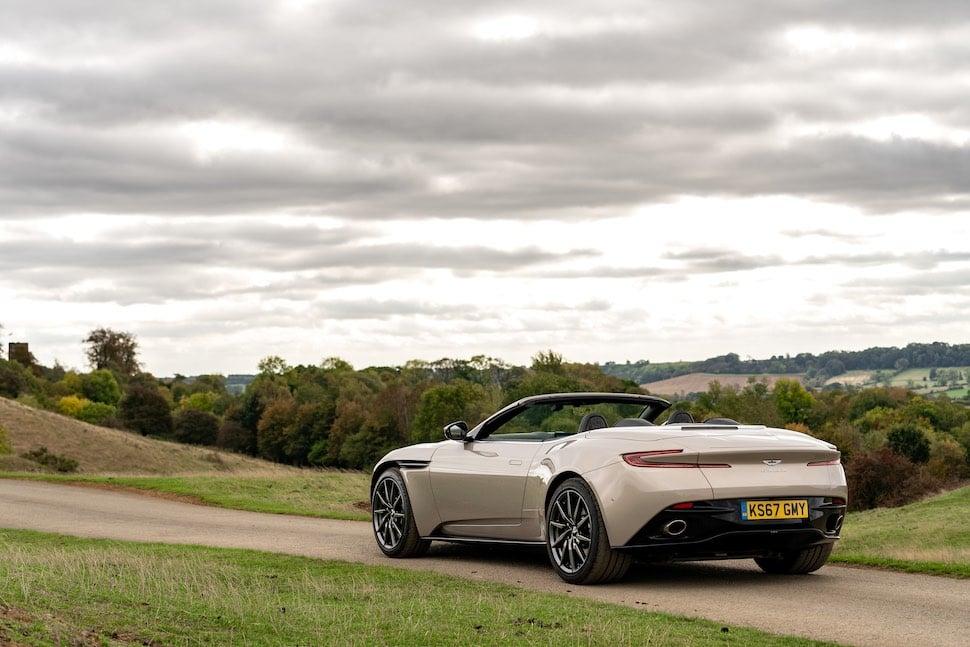 Aston Martin DB11 Volante review - rear 1
