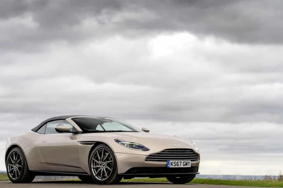 Aston Martin DB11 Volante review - cloudy