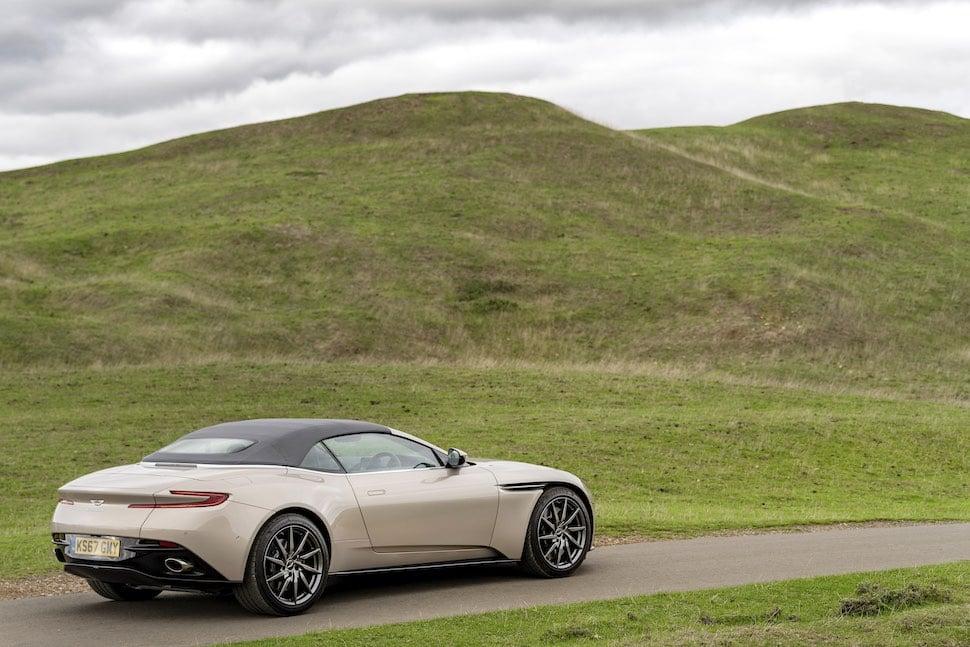 Aston Martin DB11 Volante review - rear 2