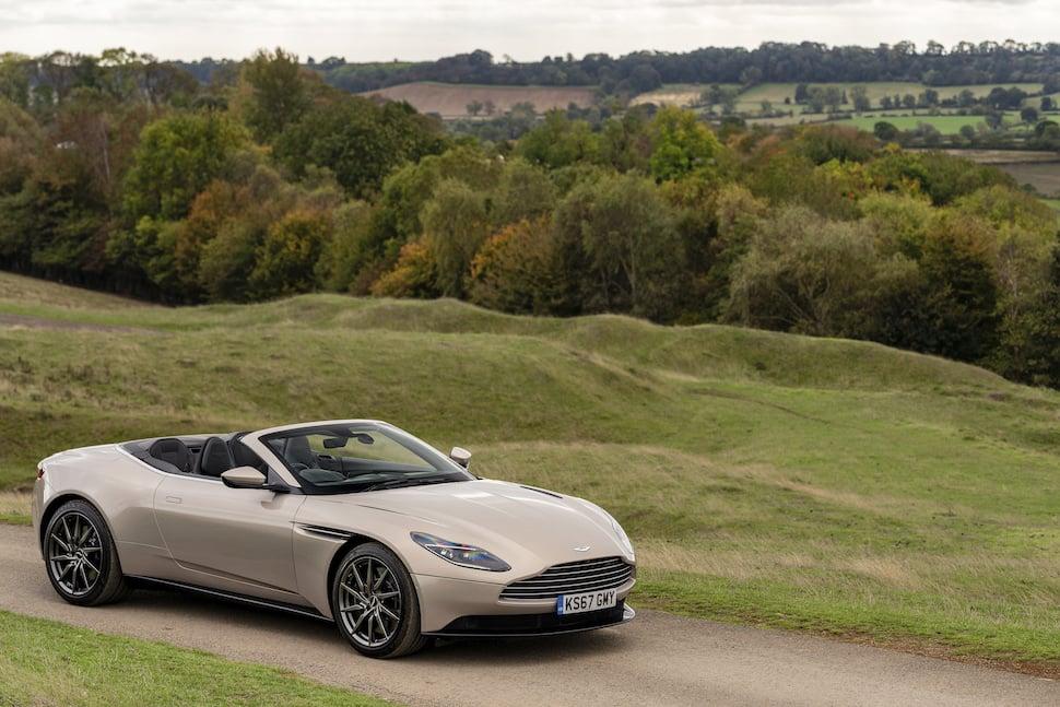 Aston Martin DB11 Volante review - front 1