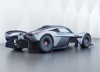 2019 Aston Martin Valkyrie - rear