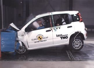 Fiat Panda crash test