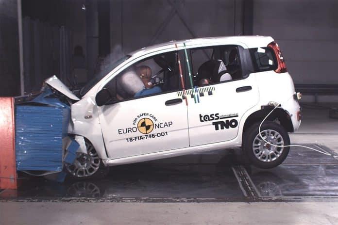 Fiat Panda crash test