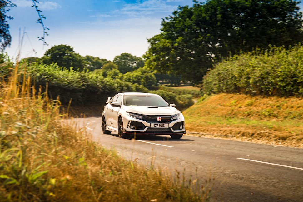 Honda Civic Type R on-road - front